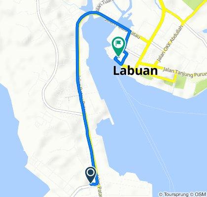 Slow ride in Labuan