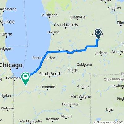 200 mile route