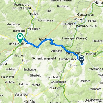 Cracking ride in Bad Hersfeld