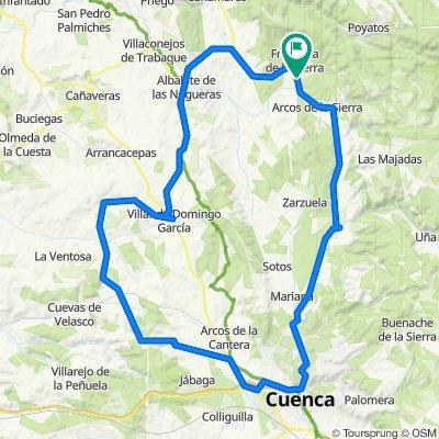 Castillejo-Albalate-Villar-Culebras-Navlón-Nohales-Cuenca-Villalba-Castillejo