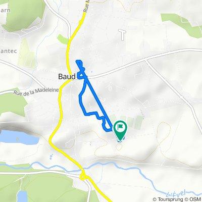 Itinéraire modéré en Baud