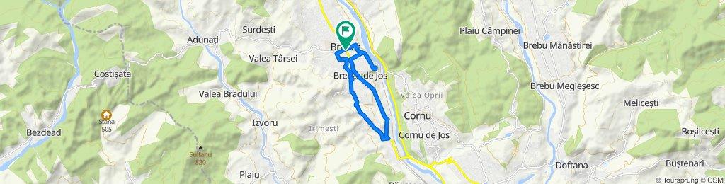 Traseu cicloturism C5 Breaza
