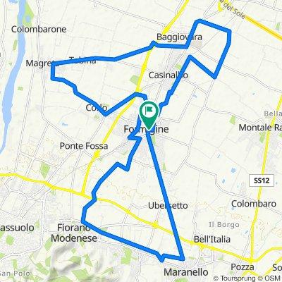 Da Via Carlo Castiglioni 9, Formigine a Via Carlo Castiglioni 9, Formigine