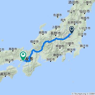 Japonia 3 Nikko-Alpy-Kobbe