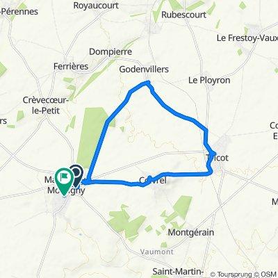 De 1 Rue de Saint-Just, Maignelay-Montigny à 6 Rue Henri Taurel, Maignelay-Montigny