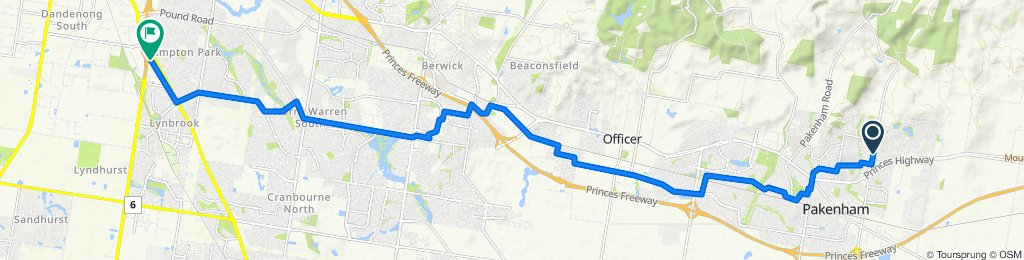 2 Baltaser Drive, Pakenham to 14 Raylee Place, Lynbrook