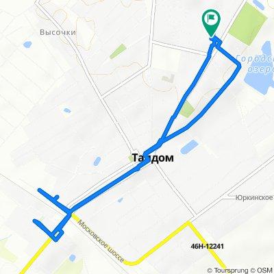 Steady ride in Талдом