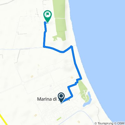 Da Via Sila in Frazione Marina di Sibari, Marina di Sibari a Contrada Bruscate Grande 109, Bruscata Grande