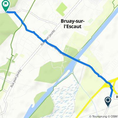 Itinéraire modéré en Bruay-sur-l'Escaut