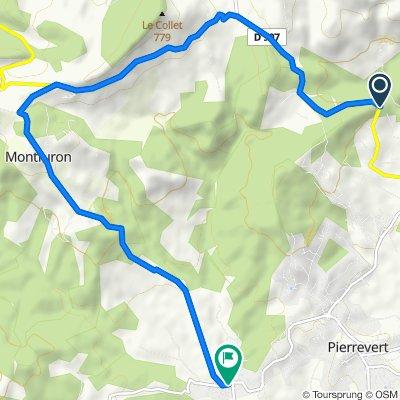 De 2244 Route d'Apt, Manosque à 20 Chemin du Golf, Pierrevert
