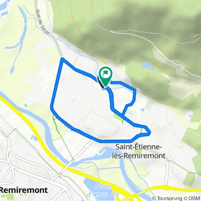 Cracking ride in Saint-Etienne-lès-Remiremont