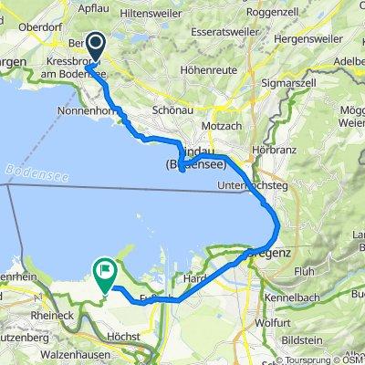 an Bregenz vorbei
