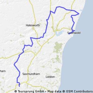 Suffolk Coastal Route part 1