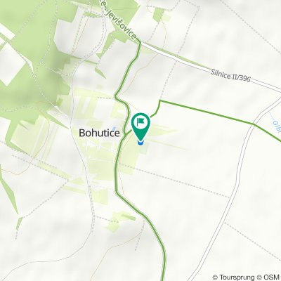 Relaxed route in Bohutice
