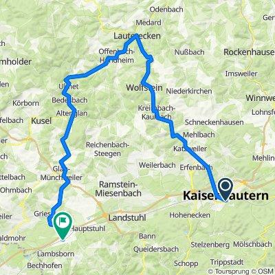 Radwege in der Nordpfalz