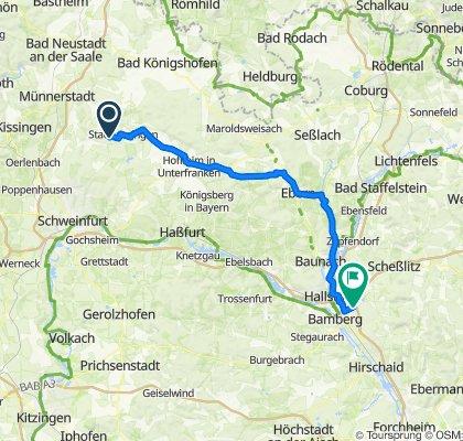 Klingenweg 9, Thundorf in Unterfranken nach Panzerweg, Bamberg
