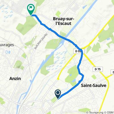 Steady ride in Bruay-sur-l'Escaut