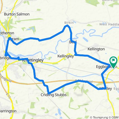 The Bungalow, High Eggborough Lane, Goole to The Bungalow, High Eggborough Lane, Goole
