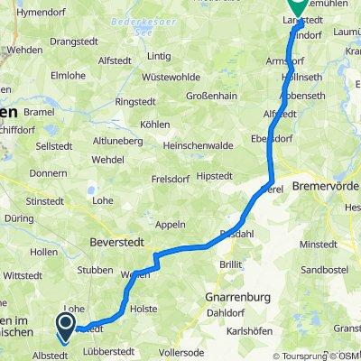 Bremerhorner Straße 21, Bramstedt nach Große Straße 14, Lamstedt