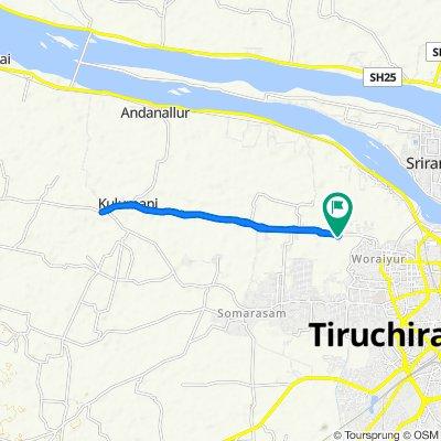 Tiruchirappalli to Woraiyur, Tiruchirappalli