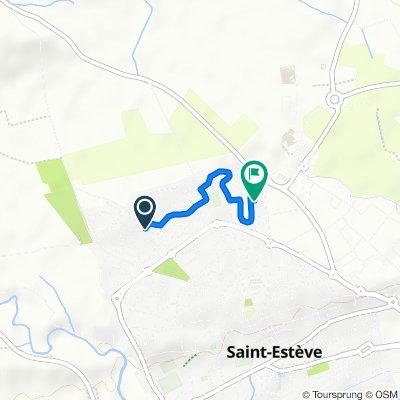 De 4 Rue de Millières, Saint-Estève à 2 Rue des Ablettes, Saint-Estève