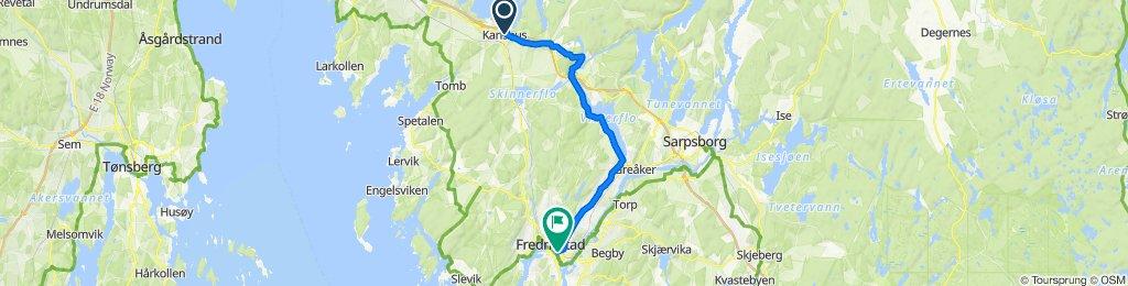 Karlshus - Fredrikstad via Solli