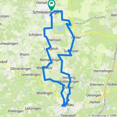 Tag 3 Schneverdingen- Soltau