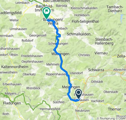 Quer durch's Land 13. Etappe Grimmenthal - Wittgenthal