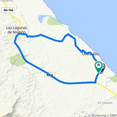 Ruta OEF - Nisibón (Por los arrozales)
