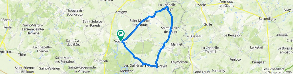 Vouvant / La Chapelle aux Lys / Vouvant
