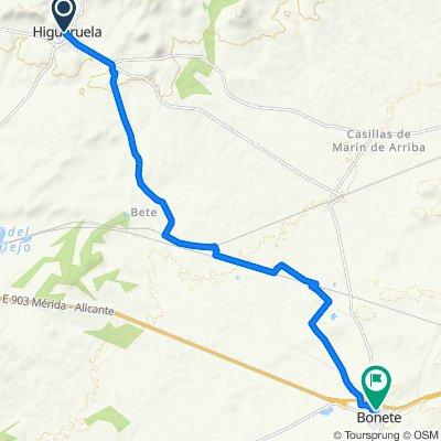 De Calle de Ramón y Cajal, 43, Higueruela a Calle del Murillo, 18–20, Bonete