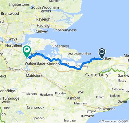 Whistable to Cuxton