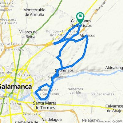 Steady ride in Salamanca
