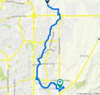 Blistering ride in Colorado Springs