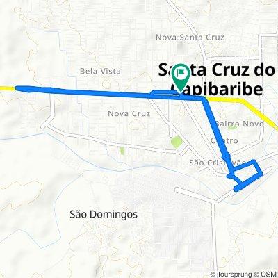 Caminhada lenta Santa Cruz do Capibaribe