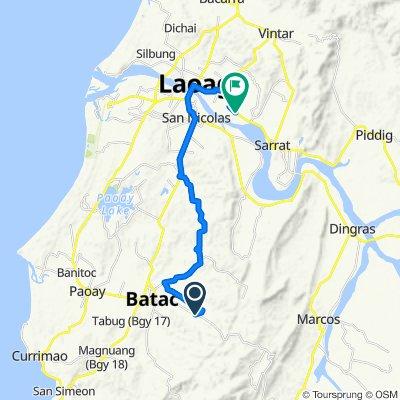 Batac - Banna Road to J. P. Rizal Street, Laoag City