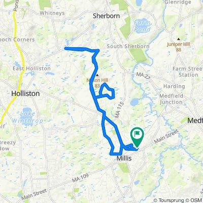 Supersonic route in Clicquot