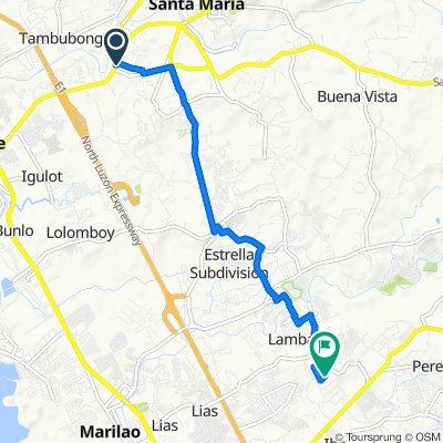 F. Halili Avenue 99, Santa Maria to Pantoc Road 1502, Meycauayan