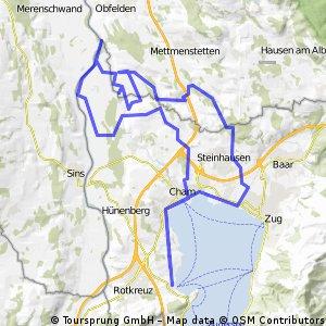 Buonas - Steinhuserwald - Rüssspitz Biotoprundfahrt