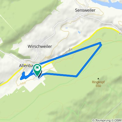 Birkenweg 16, Allenbach nach Birkenweg 8, Allenbach