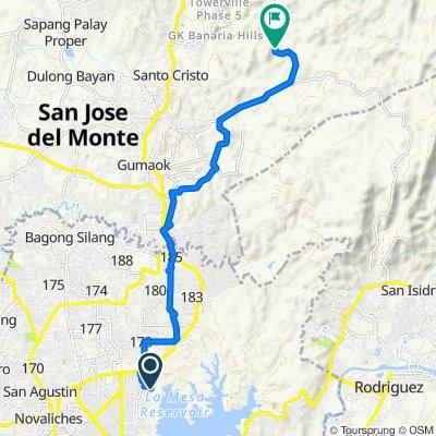 Hermano Mayor 19, Quezon City to Unnamed Road, San Jose del Monte City