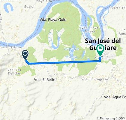 Easy ride in San José del Guaviare
