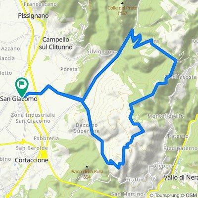 Da Via Olimpia 18, San Giacomo a S.Giacomo Inc.Ss3/Poreta, Spoleto