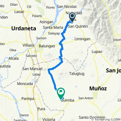 Unnamed Road, Natividad to Gerona - Guimba Road