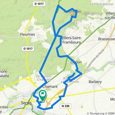Steady ride in La Courneuve