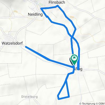 L5123 2 nach Pultendorferstraße 2, Afing