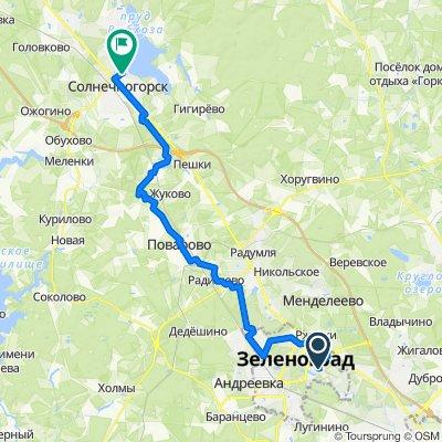 Zelenograd - Solnechnogorsk