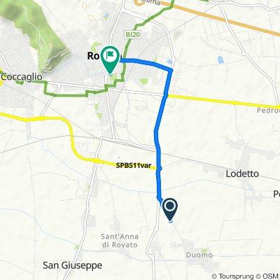 Easy ride in Rovato