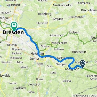 Etappe 9:Bad Schandau - Dresden
