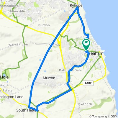13mile Alternative Route via Seaham, South Hetton and Ryhope